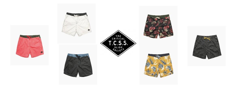 TCSS PLAIN JANE BOARDSHORT   TCSS プレイン‧ジェーン‧トランク 2016
