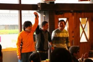 ビギナークラス優勝は高橋さん!2位はOJさん!
