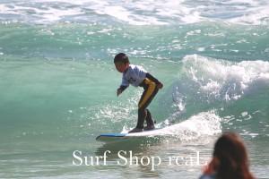 Shunsukeくん:波のフェイスをスムースに走った!