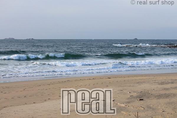 波は残ってますが、風が入ってきてます。