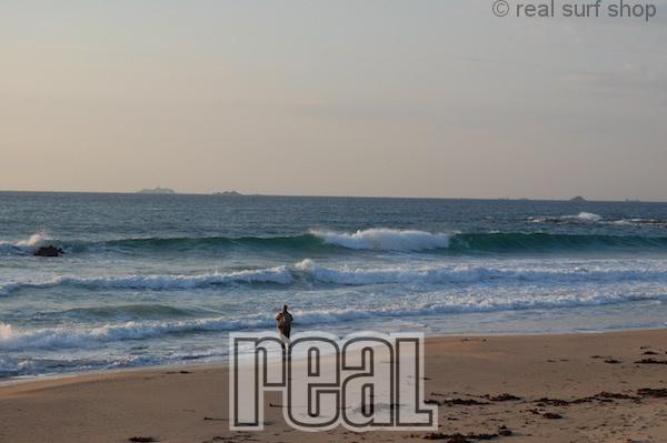 波あります!