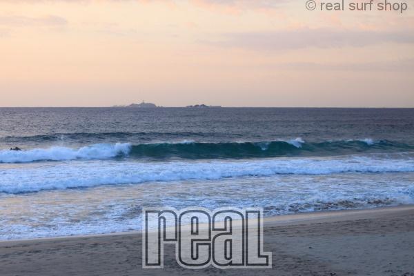 波はありますが、風が入ってきてます。