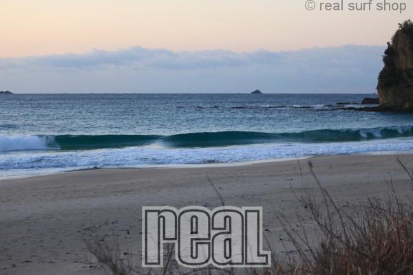 波はありますが、速いブレイク。
