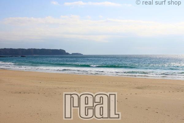 波は大きくサイズダウン … 。