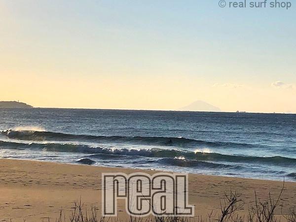 波は残っていますよ!