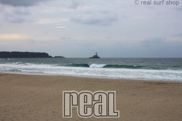 波はありますが、朝から風が入ってます。
