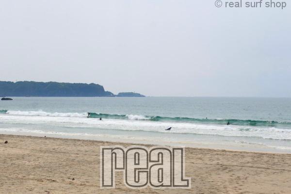 昨日よりも波はサイズアップ!