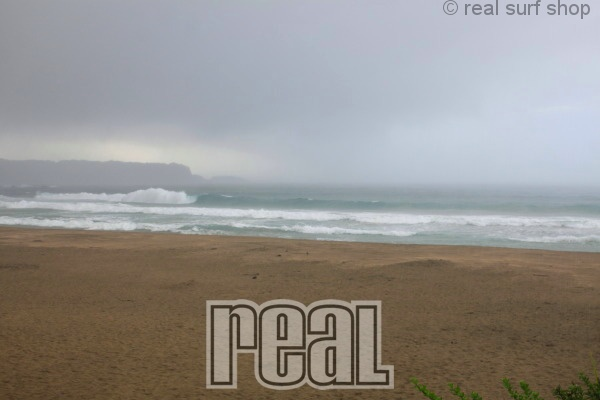 波は落ち着いてます。