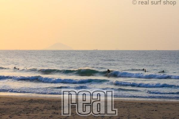 波は少し残ってます。
